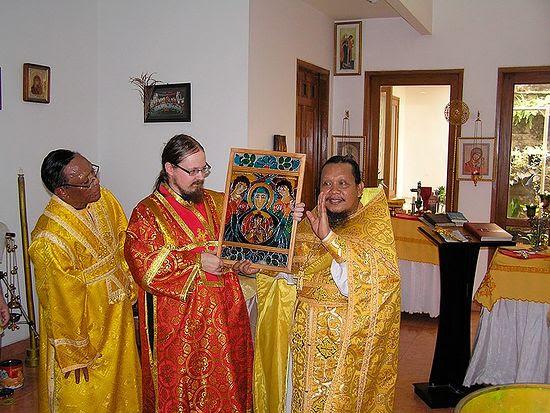 Frs. George Maximov and Ioasaph (Tandibilang)