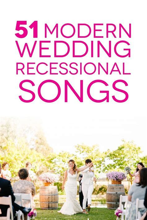 Wedding Recessional Songs to Help You Dance into the
