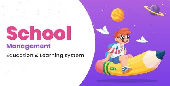 School Management v8.0 - Education & Learning Management system for WordPress