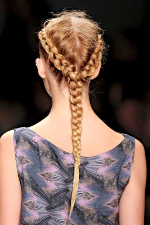 14 Le Fashion Blog 21 Braid Ideas For Long Hair Side Crown Braided Hairstyle Ponytail Via Glamour