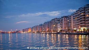 ... Στην παραλία Θεσσαλονίκης