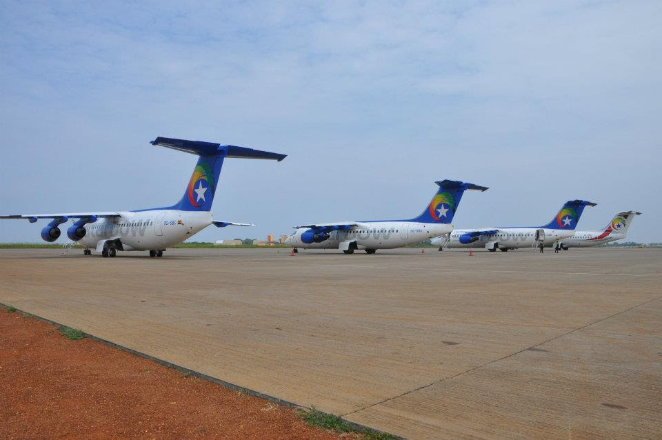 Starbow Airlines in Accra