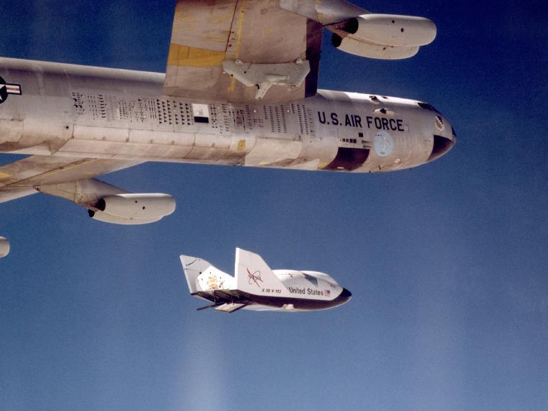 X-38 Crew Return Vehicle Finds New Home