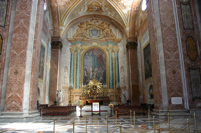 File:3224 - Roma - Santa Maria degli Angeli - Interno - Foto Giovanni Dall'Orto 17-June-2007.jpg