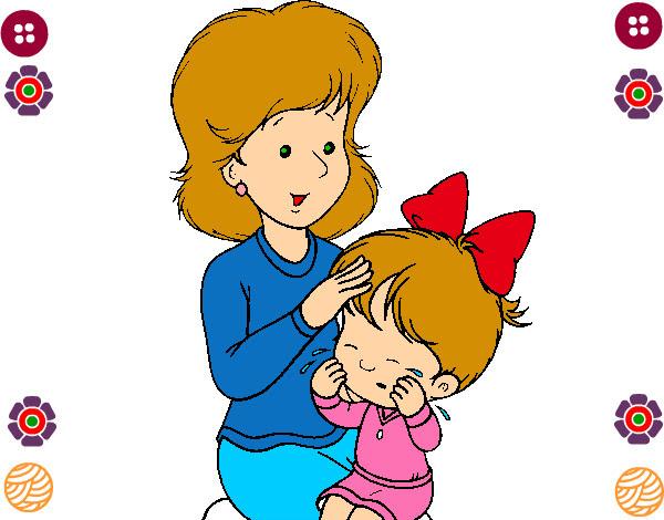 Dibujo De La Madre E Hija Pintado Por Dulsesitha En Dibujos Net El