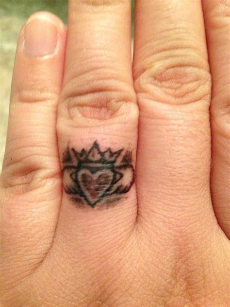 New claddagh ring tattoo! Turned out amazing!   Tattoo