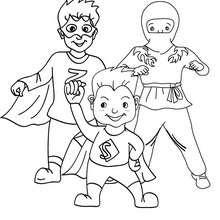 Dibujos Para Colorear Vestido De Superhéroe Eshellokidscom