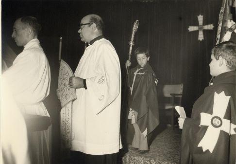 Reapertura al culto de la Iglesia de Santa Eulalia de Toledo hacia 1970. Fondo Rodríguez, Archivo Histórico Provinicial, Junta de Comunidades de Castilla-La Mancha