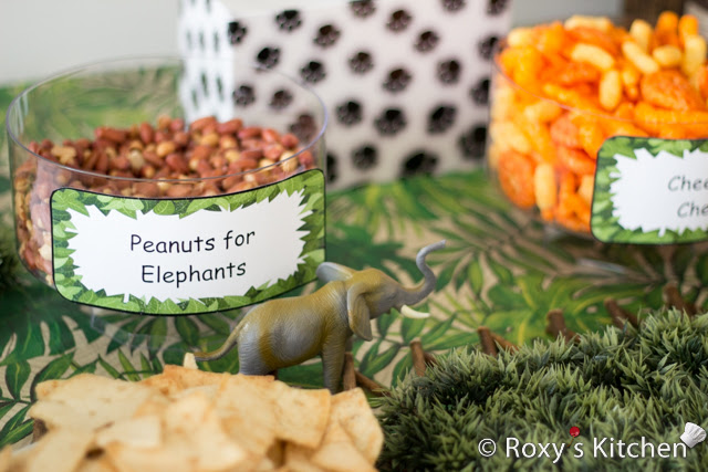 Safari Jungle Themed First Birthday Party Part Ii Appetizers Finger Foods Snack Ideas Roxy S Kitchen