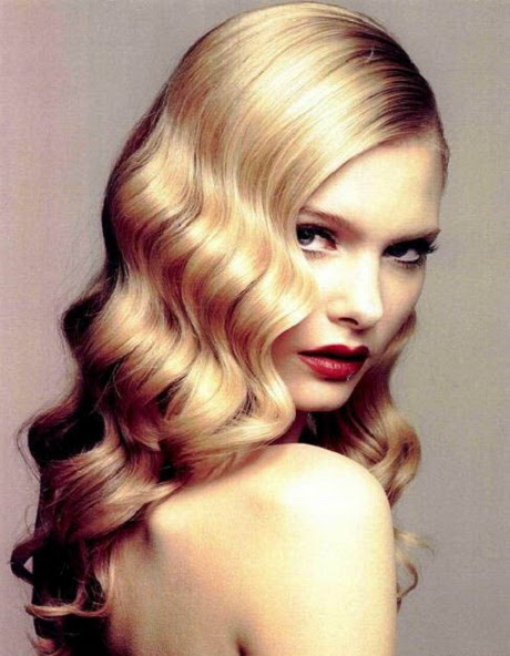 Vintage  hairstyles  for long  hair