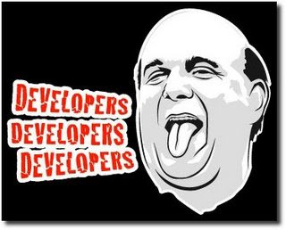 Steve Ballmer Developers