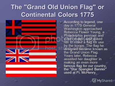 Grand Union Flag stitched by Rebecca Young