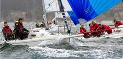 J/80s sailing off France