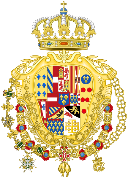 File:Greater Coat of Arms of Ferdinand IV of Naples.svg