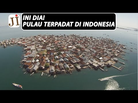 Pulau Bungin, Pulau Terpadat di Dunia dari Sumbawa