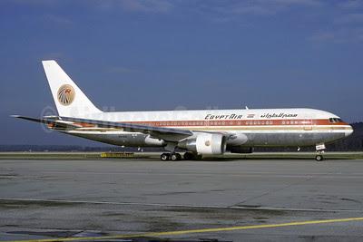 Egypt Air Boeing 767-266 ER SU-GAI (msn 23179) ZRH (Rolf Wallner). Image: 912790.