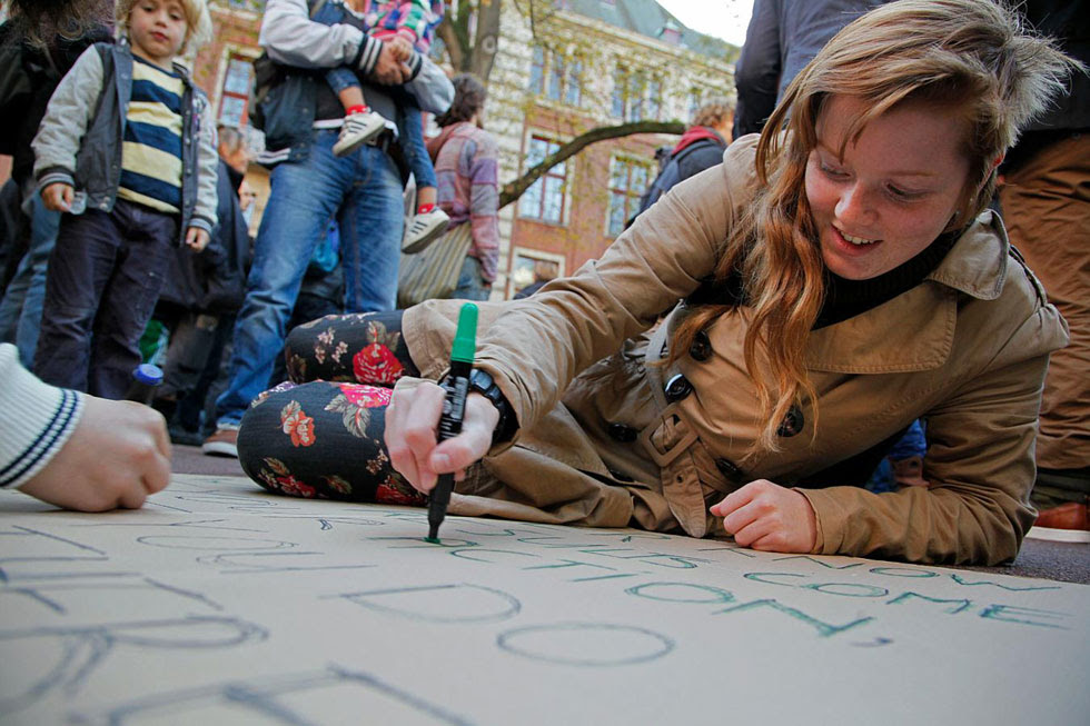 Occupy Amsterdam, The Netherlands