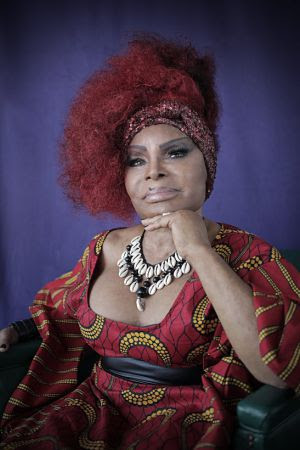 La cantante brasileña Elza Soares.