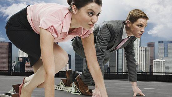 Largada - competencia laboral entre géneros