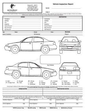 car check sheet form Fill Online, Printable, Fillable, Blank ...
