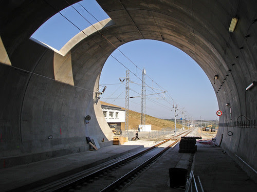 Tête Nord Tunnel LGV Perpignan-Figueres - Tube Ouest MISTRAL