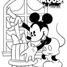 Coloriage Mickey Et Ses Amis Coloriages Gratuits à Imprimer Sur