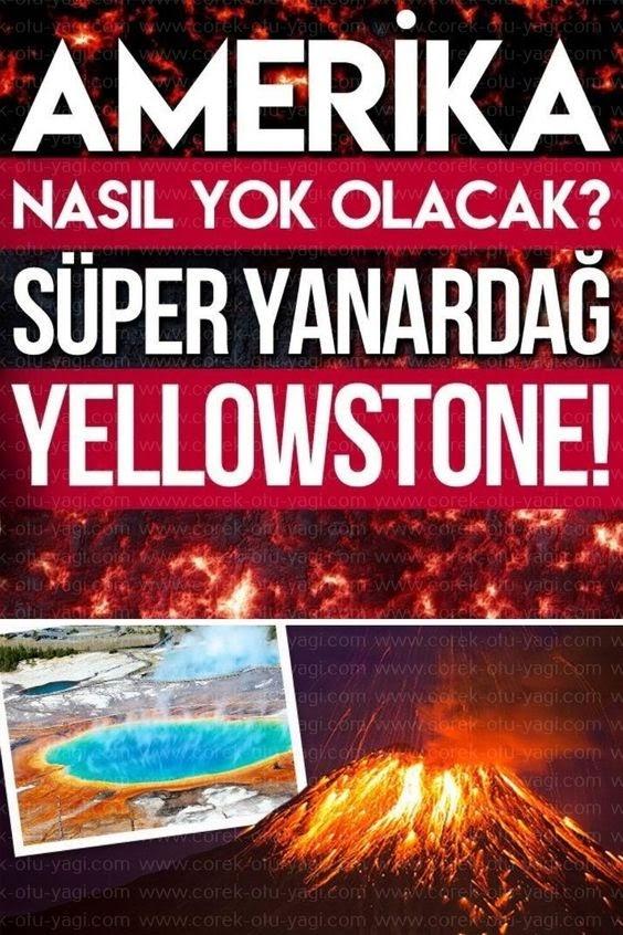 Dünyanın En Büyük Volkanı Yellowstone Patlarsa Ne Olur?
