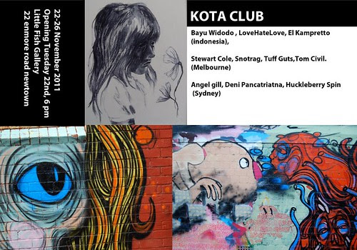 Kota Club - exhibition @ Little Fish Gallery, Newtown, Sydney