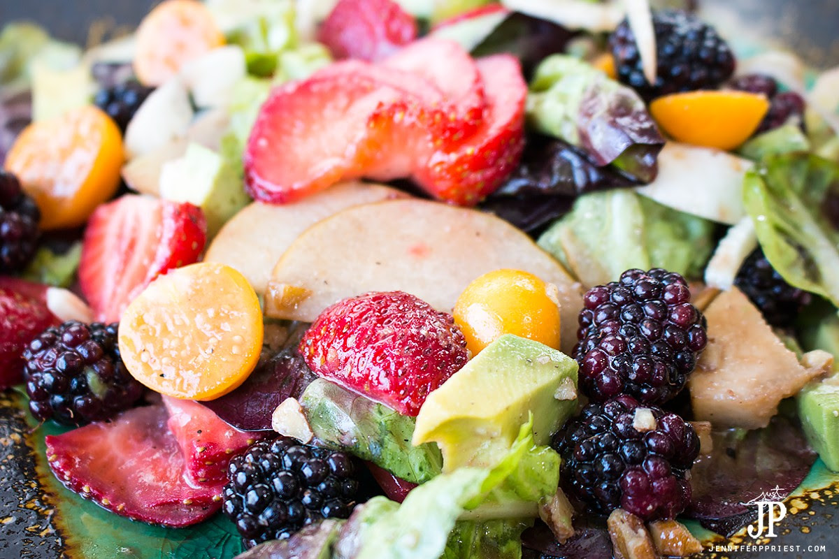 Summer Moscato Strawberry Salad   Smart Fun DIY