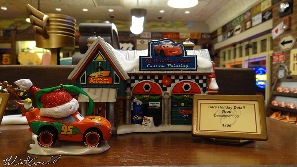 Disneyland Resort, Disney California Adventure, Cars Land, Christmas Time, Christmas, Merchandise, Cars Land