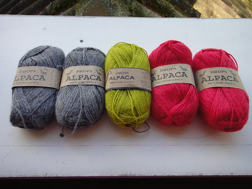 Colors for Mystery Shawl