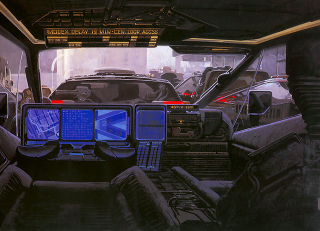 1980 ... Syd Mead- 'Bladerunner' concepts