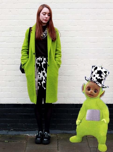 Dipsys cow print hat inspiration