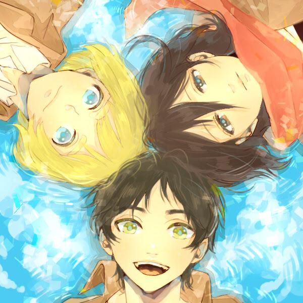 Kawaii Snk Trio Kawaii Anime Fan Art 35584441 Fanpop