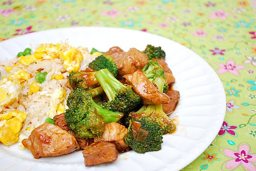 Teriyaki Pork & Broccoli Stir Fry