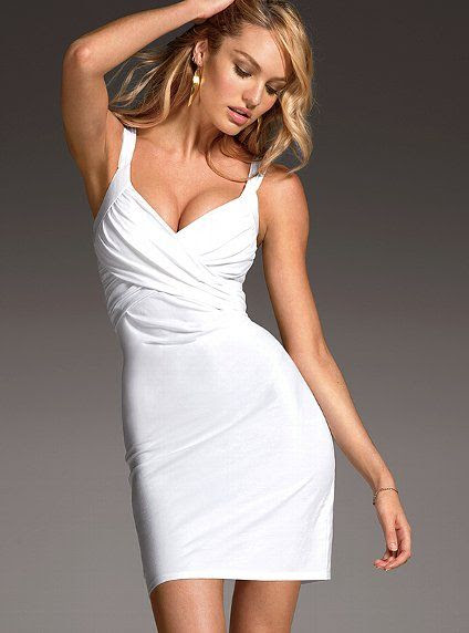 Victoria's Secret Drape Front Bra Top Dress