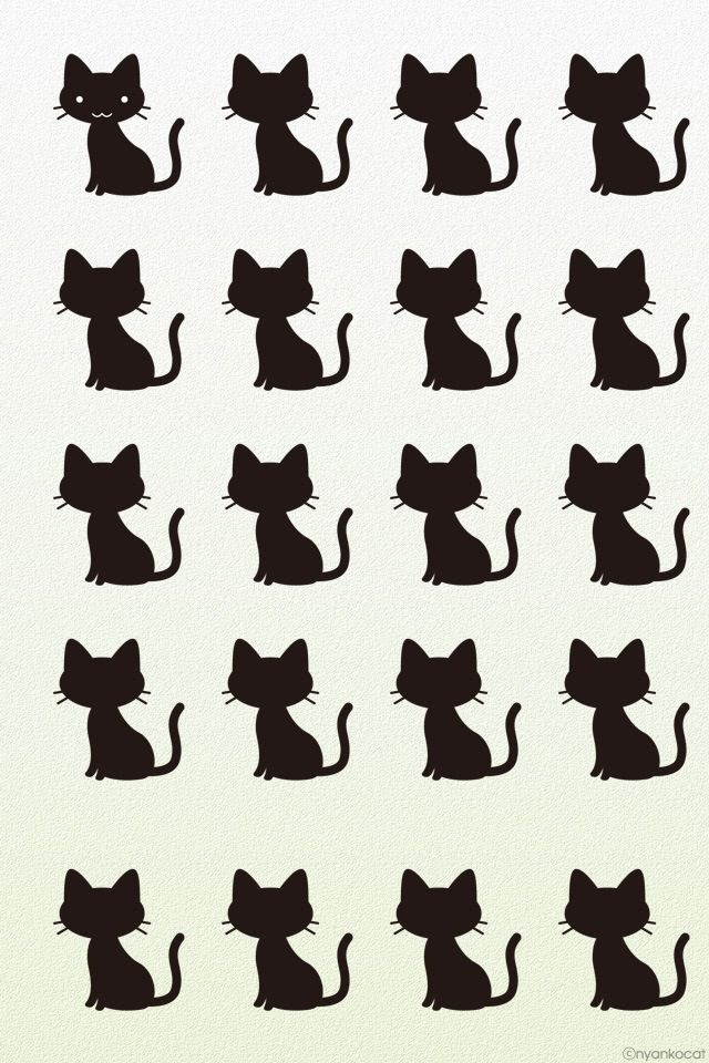 Cat Silhouette Wallpaper At Getdrawingscom Free For Personal Use