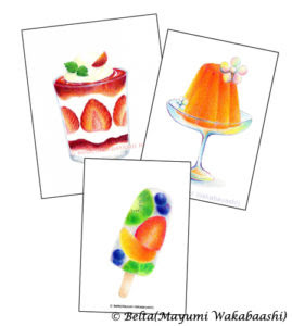 Beltaのcolored Pencil Gallery 色鉛筆ギャラリー スイーツ塗り絵 販売