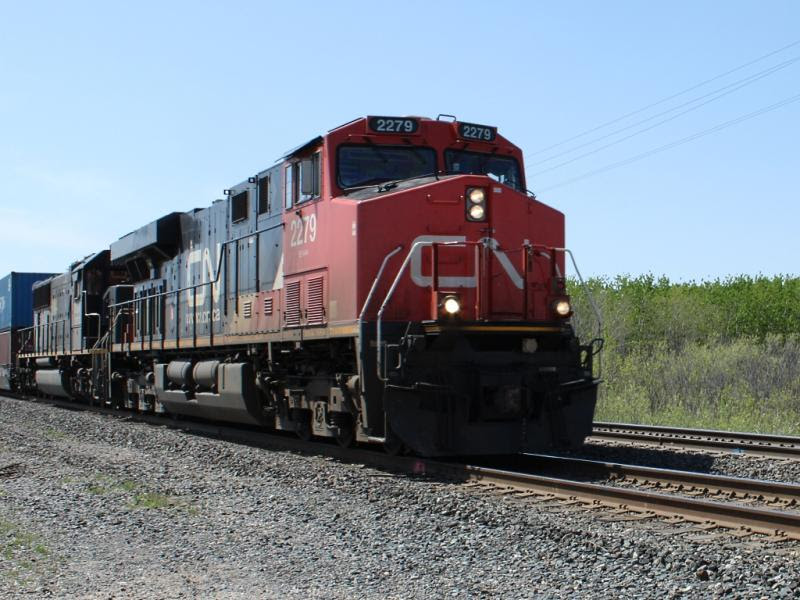 CN 2279 in Winnipeg