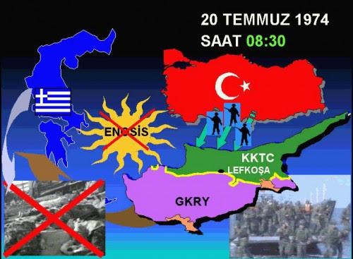 Τουρκική αφίσα της εισβολής