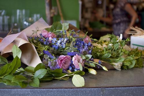 flower shopping spree