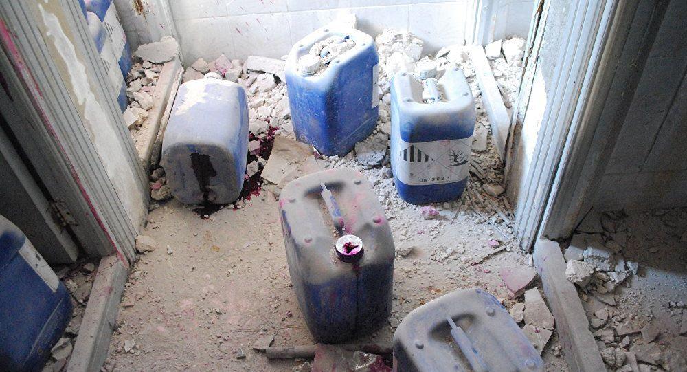 Des substances chimiques du laboratoire de Porton Down découvertes dans un dépôt à Douma
