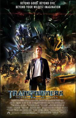 TRANSFORMERS 2 fan-made poster.
