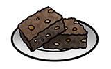 desenho, relacionamento e bolos, que bolo é o seu relacionamento?, bolo brownie, bolo