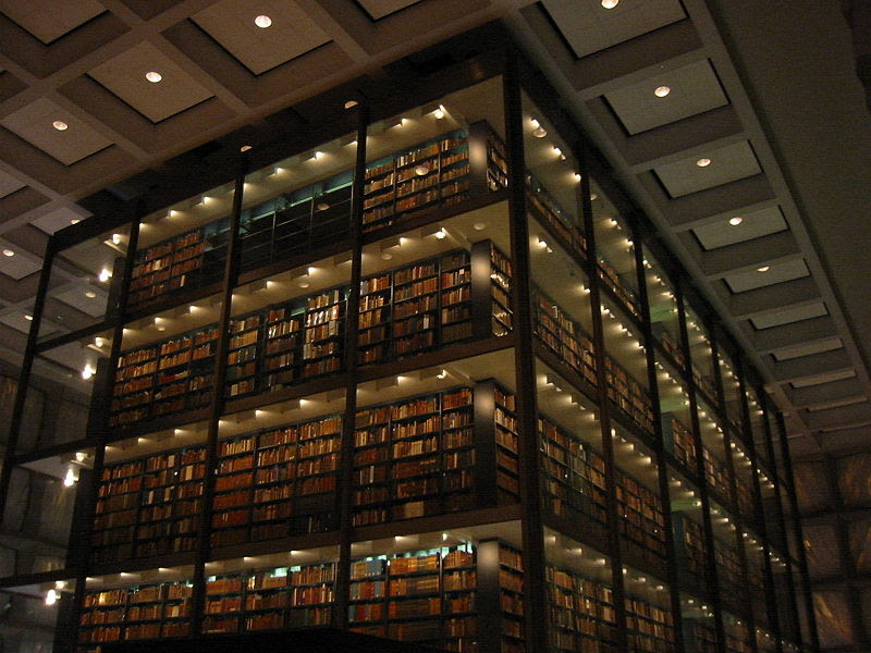 Archivo:Beinecke Library interior 2.JPG