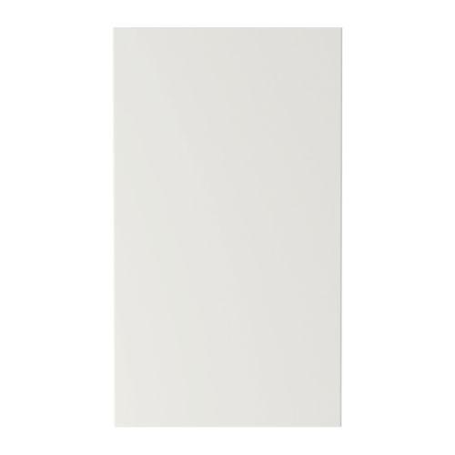 ABSTRAKT Door for corner wall cabinet - high gloss white, 17x30