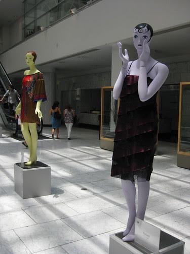 Fashionable mannequins