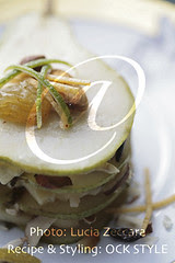 Pear and Blue Cheese Millefeuilles, [Dtls]