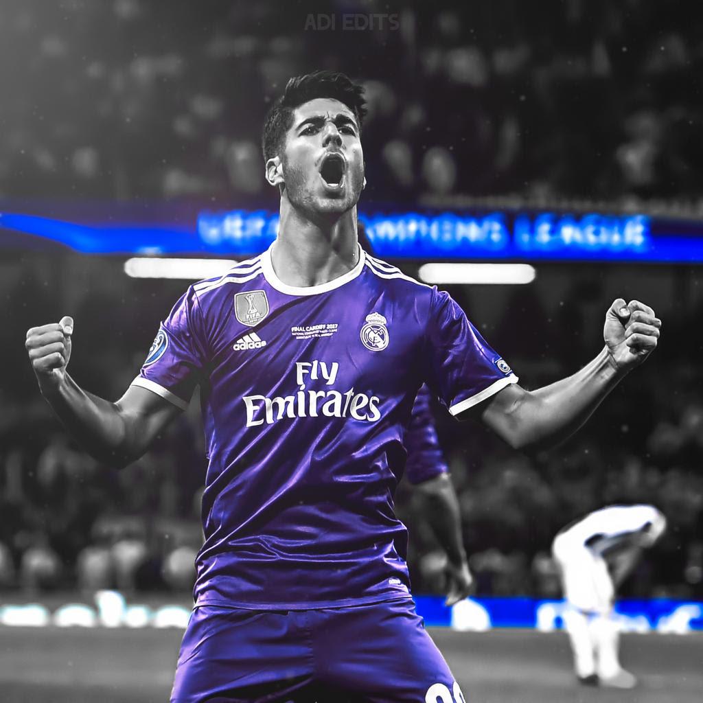 Marco Asensio Real Madrid Wallpaper Locscreen HD by adi ...