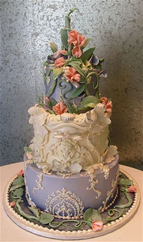 21 best images about Sweet Pea Wedding Cakes on Pinterest